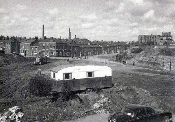 Demolition of Aqueduct stree and canal