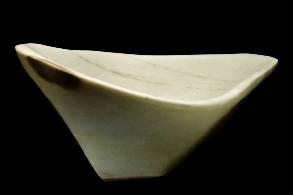 Coracle, The Maiden Collection / Yule Marble / SN120105 / 22.25 x 15.25 x 8.5 inch / 40 lbs / $3,750 / photo: Steve Mundinger