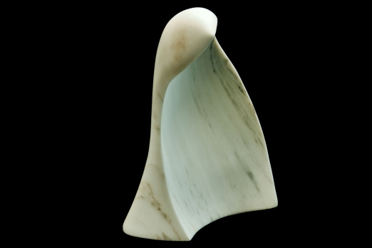 Guin, The Maiden Collection, Colorado Yule Marble Sculpture by Martin Cooney