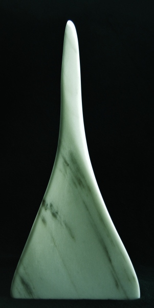 Son of a Guin, The Maiden Collection, Colorado Yule Marble Sculpture by Martin Cooney