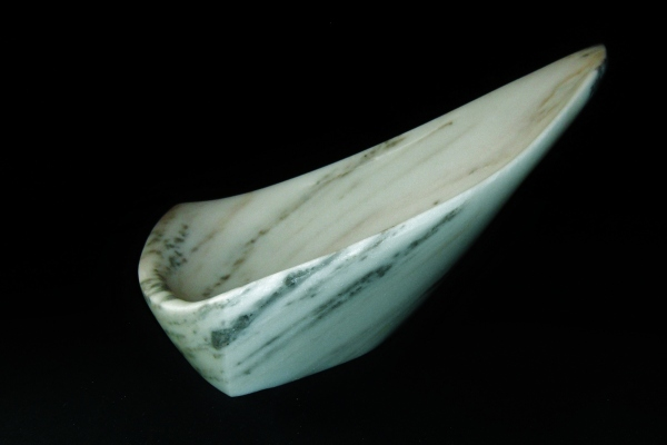 Sailboat Tempest, The Maiden Collection / Yule Marble / SN120705 / 19 x 12.5 x 8.5 inch / 19.8 lbs / $2,750