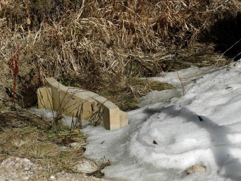 Ships in the Night, Birdhaven, Woody Creek, Kansas Creme Limestone by Martin Cooney