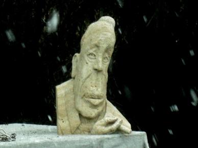 Boogieman, The Colorado Rocky Mountain Sculpture Garden, Woody Creek CO