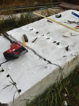 Splitting the Slab / Colorado Yule Marble Slab Destined for The Maiden Collection @ martincooney.com