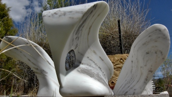 Wave Power, The Maiden Collection, Colorado Yule Marble by Martin Cooney