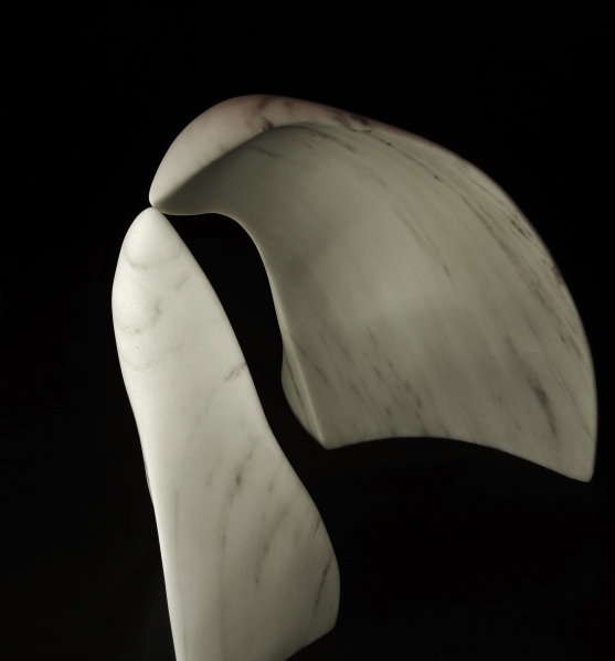 Guin and Son, The Maiden Collection, Colorado Yule Marble Sculpture by Martin Cooney