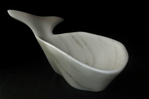 Jonah, The Maiden Collection / Yule Marble / 21 x 12.5 x 9.5 inch / 25.8 lbs / SN120703 / $3,500