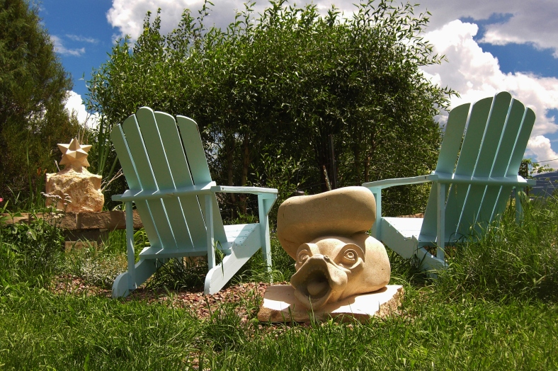 Sea Monster Sundial in the Sculpture Garden @ martincooney.com