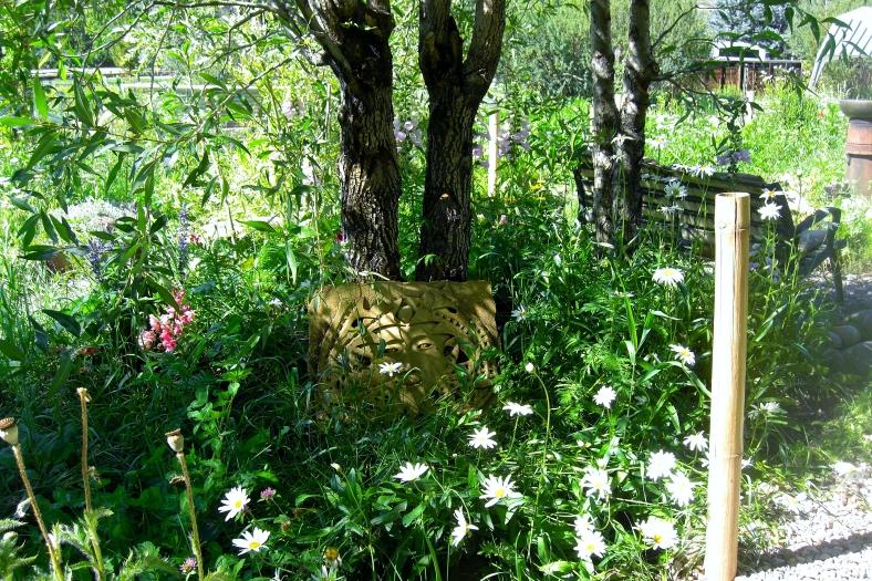 """""""Birdhaven"""", The Colorado Rocky Mountain Sculpture Garden, Woody Creek, Colorado"""