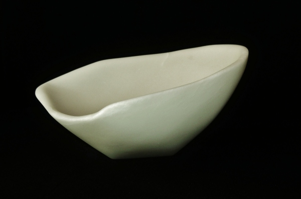 Sugar Bowl, The Maiden Collection / Yule Marble / SN120804 / 13 x 12 x 7 inch / 15.4 lbs / $2,000
