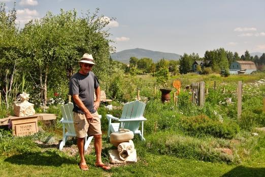 Author, Seamonster, Sculpture Garden