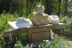 Sculpture Garden, The Star, Dreadnought, The Maiden Collection, Colorado Yule Marble Sculpture by Martin Cooney
