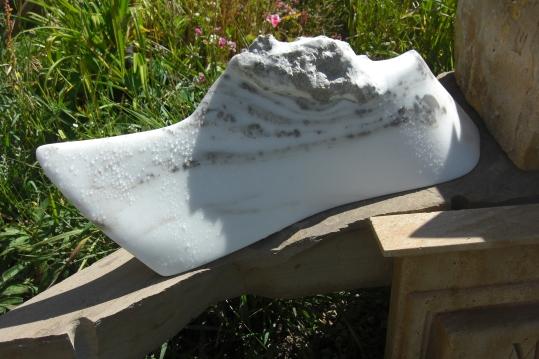 Sculpture Garden, Dreadnought, The Maiden Collection, Colorado Yule Marble Sculpture by Martin Cooney