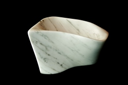Chicane, The Maiden Collection, Colorado Yule Marble Sculpture by Martin Cooney