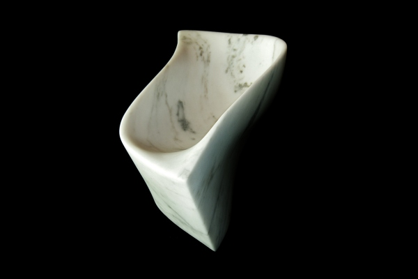 Chicane, The Maiden Collection / Yule Marble / 16.5 x 9 x 7.5 inch / 32 lbs / SN120901 / $3,200
