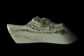 Dreadnought, The Maiden Collection, Colorado Yule Marble Sculpture by Martin Cooney