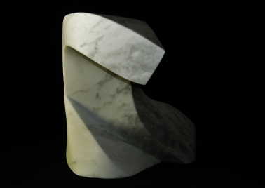 Terrible Lizard, The Maiden Collection, Colorado Yule Marble Sculpture by Martin Cooney
