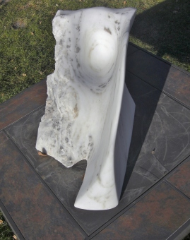 Mabel, Spirit of the Stone, The Maiden Collection, Colorado Yule Marble Sculpture by Martin Cooney
