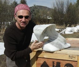 Author martincooney.com, The Demure One, The Maiden Collection, Colorado Yule Marble Sculpture by Martin Cooney.