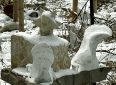 Thing One, The Maiden Collection, Colorado Yule Marble Sculpture by Martin Cooney