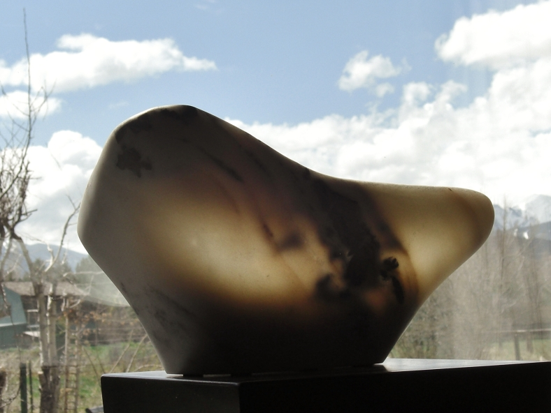 The Maiden Bowl, The Maiden Collection, Colorado Yule Marble Sculpture by Martin Cooney