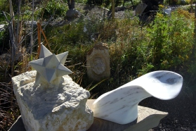 """Starboard """"Thing Two"""", The Maiden Collection, Colorado Yule Marble Sculpture by Martin Cooney"""