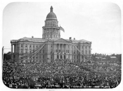 Colorado State Capital Building Opening Ceremony