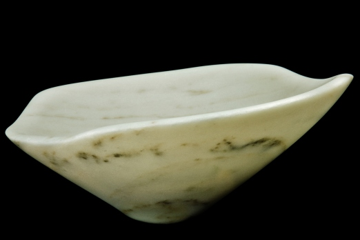 "$1,200 Pearl 12x12x6"", The Maiden Collection, Colorado Yule Marble Sculpture by Martin Cooney"