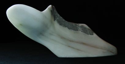 Elk Mountain Bowl, The Maiden Collection, Colorado Yule Marble Sculpture by Martin Cooney