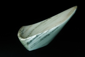 Sailboat Tempest, The Maiden Collection, Colorado Yule Marble Sculpture by Martin Cooney