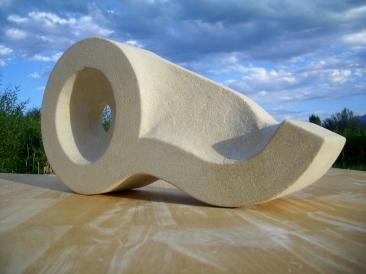 Eye of the Beholder, Kansas Creme Limestone by Martin Cooney
