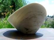 Mother of Pearl, The Maiden Collection, Colorado Yule Marble Sculpture by Martin Cooney