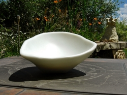 Sugar Bowl, The Maiden Collection, Colorado Yule Marble Sculpture by Martin Cooney