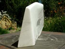 Genesis, The Maiden Collection, Colorado Yule Marble Sculpture by Martin Cooney