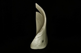 Right There! The Maiden Collection, Colorado Yule Marble Sculpture by MARTIN COONEY