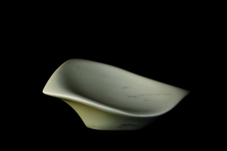 Sparrow, Hand Carved Marble Bowl