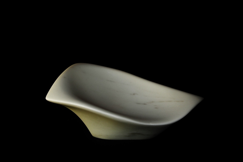 Hand Carved Marble Bowl - Sparrow