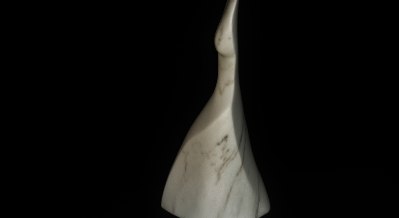 Venus de Mermaid, The Maiden Collection, Colorado Yule Marble Sculpture by Martin Cooney