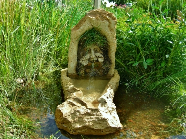 Green Man Solar Fountain @ martincooney.com