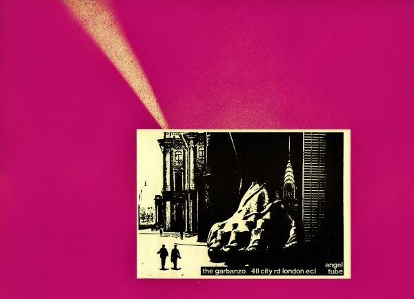 Big Foot Poster The Garbanzo 1984-8, The Angel, London @ martincooney.com