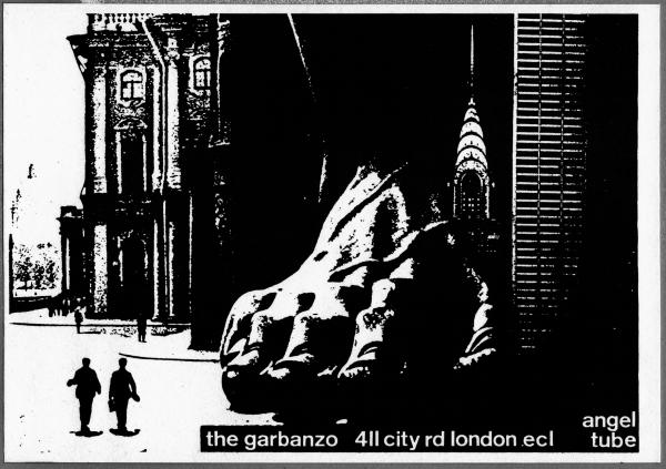 Big Foot Poster Garbanzo Walls Video