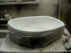 1314 Winter Collection, Curvy Linear Bowl 1