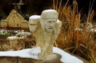 Snowgoyles, Garden Workshop Tour, Halloween 2013
