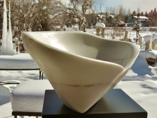 'On The Cusp', 1314 Winter Collection, Marble Sculpture by MARTIN COONEY