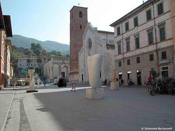 I'll be living and carving in and around Pietrasanta, The City of Art, on the Tuscan coast.