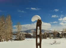 Snowy Totem, The Deep Winter Snowscape, Part Two 2014 02 10