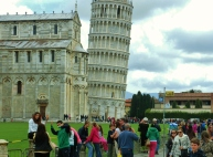 The Place of Miracles, Pisa, Along The North West Tuscan Way by Martin Cooney