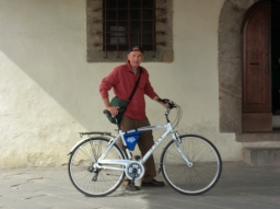 Martin Cooney, Bicyling Around Lucca, Tuscany, Italy