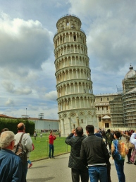 The Leaning Tower of Pisa, Along The North West Tuscan Way by Martin Cooney