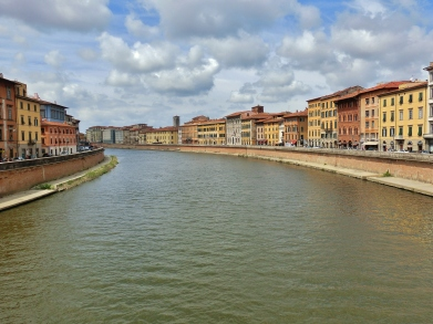 Central Pisa, Along The North West Tuscan Way by Martin Cooney